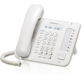 Telefon digital proprietar Panasonic KX-DT521X, Alb