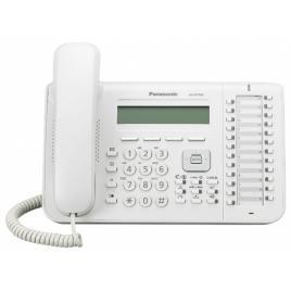 Telefon digital proprietar Panasonic KX-DT543X, Alb