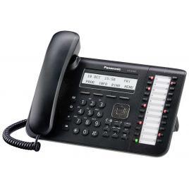 Telefon digital proprietar Panasonic KX-DT543X-B, Negru