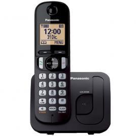 Telefon fara fir DECT Panasonic KX-TGC210FXB, Caller ID, Agenda 50 contacte, speaker, clip, iluminare display, speed dial, keypad lock, Negru