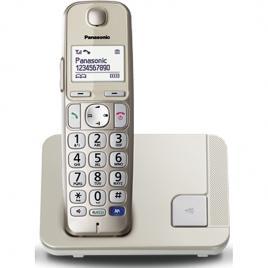 Telefon fara fir Panasonic DECT KX-TGE210FXN, Caller ID, Argintiu
