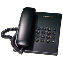 Telefon fix analogic Panasonic KX-TS500FXB, Black
