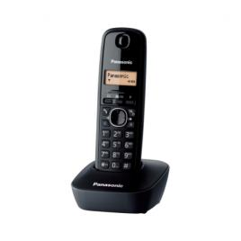Telefon fix fara fir Panasonic DECT KX-TG1611FXH, Caller ID, Black