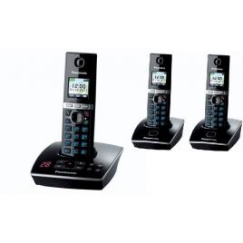 Set DECT Panasonic 3 RECEPTOARE (KX-TG8061FXB + 2x KX-TGA806FXB)