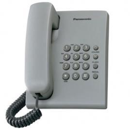 Telefon fix analogic cu fir, Panasonic KX-TS500FXH, Gri