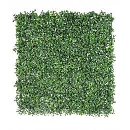 Panou plante artificiale verzi  buxus  50 cm x 50 cm