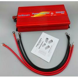 Invertor tensiune 12V-220V Lairun, 3000 W, putere continua 2000 W