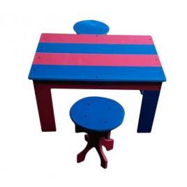 Masa cu 2 tabureti pentru gradina