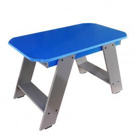 Masuta pentru exterior sau interior din PVC albastra gri HELENE