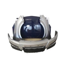 Fata Completa Opel Astra H 2004 2005 2006 2007 Bara + Aripa + Toate Grilele Z163 Gri / Albastru