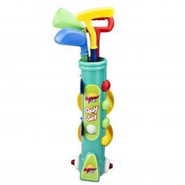 Set de golf pentru copii, 12 piese, Multicolor