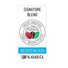 Cafea proaspat prajita the coffee shop 100% arabica decaf, 500g