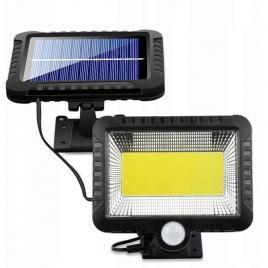 Lampa led cob cu panou solar individual  si senzor de miscare