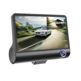 Camera Auto 3in1 DVR FULL HD 1080P, 3 camere fata/spate/interior ecran de 4 inch