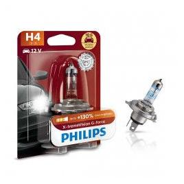 Bec auto Philips H4 X-tremeVision G-force +130 12 V 55/60 W