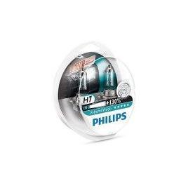 Bec auto cu halogen pentru far Philips H7 XtremeVision +130 12V 55W 2 Buc