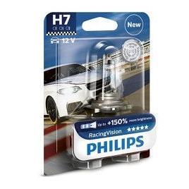 Bec auto far halogen Philips H7 RacingVision +150 12V 55W