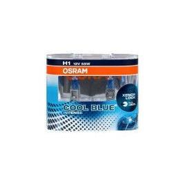Becuri auto H1 12V 55w P14.5s Osram Cool Blue Intense Set 2 becuri efect Xenon 64150CBIHCB