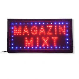 Reclama Text LED - Magazin Mixt / animatie luminoasa dinamica