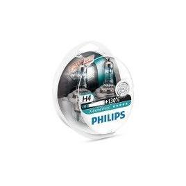 Set 2 Becuri auto far halogen Philips H4 XtremeVision +130 12V 60/55W 2 Buc