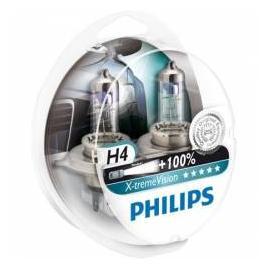 Set 2 Becuri auto far halogen Philips H7 Xtreme Vision 100 12V 55W
