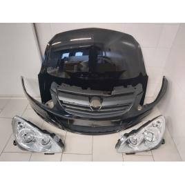 Fata Completa Motor Opel Corsa D 2006 2007 2008 2009 2010 2011 Z20R Negru Bara + Capota + Faruri