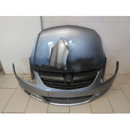 Fata Completa Opel Corsa D 2006 2007 2008 2009 2010 2011 Bara + Capota + Aripa Fata Dreapta Z163 Gri