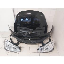 Fata Completa Opel Corsa D 2006 2007 2008 2009 2010 2011 Z20R Negru Bara + Capota + Faruri + Trager
