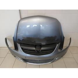 Fata Completa Opel Corsa D 2006-2011 Capota + Bara Fata Z163 Gri Sau Albastru