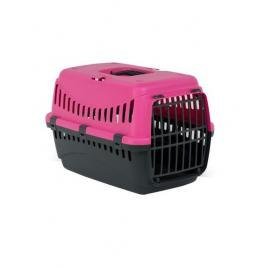 Cusca transport animale , Gipsy L , Plasitic 58X38X38 Pink Phanter Usa Metal