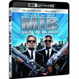 Barbati in negru 1 / Men in Black (4K Ultra HD + Blu-Ray Disc) [DVD] [1997]