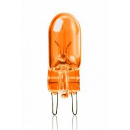 Bec auto vecta 12v t10 3w w2.1x9.5d orange , 2 buc. la blister kft auto