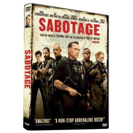 Sabotaj / Sabotage - DVD