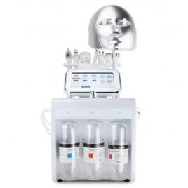 Aparat Cosmetic Profesional 8in1 H2O2 Jet Hidroxigen Micro Bule Indepartare Puncte Negre, RF, Criolift, Hidrodermoabraziune, Curatare, Hidratantare, Lifting Saloane, Indepartarea Acneei, Ultrasunete, Masca LED S516