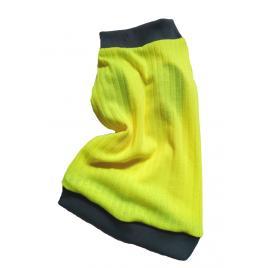 Pulover Petas galben neon, caini/pisici, marime M 30-33 cm