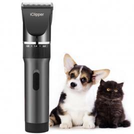 Aparat Profesional Tuns Pet Animale Companie, Caini, Pisici, Reincarcabil iClipper X6, Black