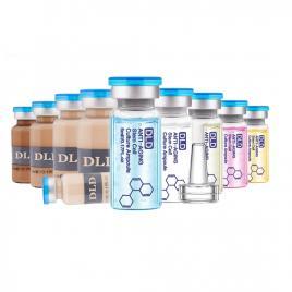 Set 10 Fiole Tratament Facial BB-Glow Meso Serum MakeUp Dermawhite Foundation Whitening BB-Cream Microneedeling Dr.Pen DLD