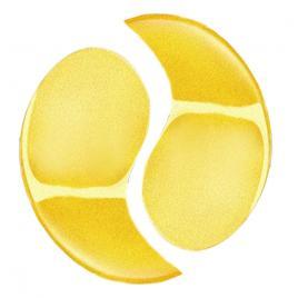 Set 10 Masca Ochi Colagen si particule de aur 24K, Efect Lifting, Indepartare Cearcane, Golden Dream