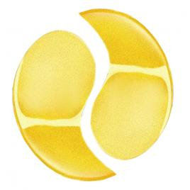 Set 5 Masca Ochi Colagen si particule de aur 24K, Efect Lifting, Indepartare Cearcane, Golden Dream