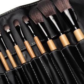 Set 18 pensule machiaj Cosmetic - Make-up Profesional  + Trusa Corector + Burete Machiaj Cadou!