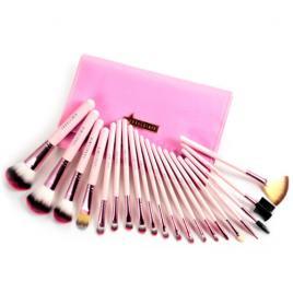 Set 20 pensule machiaj Cosmetic, Make-up Profesional + Trusa Corector + Burete Machiaj Cadou!