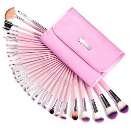 Set 31 pensule machiaj Cosmetic - Make-up Profesional+ Trusa Fard Pleoape + Burete Machiaj Cadou!