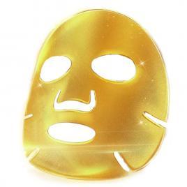Set 5 Masti Fata Colagen si particule de aur 24K, Efect Lifting Faial, Hidratare Intensa, Indepartare Cearcane, Golden Dream