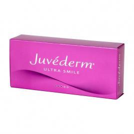 Tratament buze Filler Acid Hialuronic Juvederm® ULTRA SMILE, 2 seringi cu 0,55 ml, Volumizare Buze Complete, Moi, Naturale, Tratamentul Liniile Fine