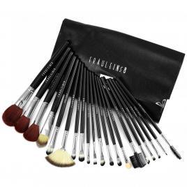 Set 20 pensule machiaj Cosmetic, Make-up Profesional Black