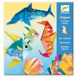 Set creativ origami djeco ocean