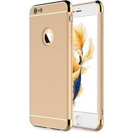 Husa pentru Apple iPhone 6/6S, GloMax 3in1 PerfectFit, Gold