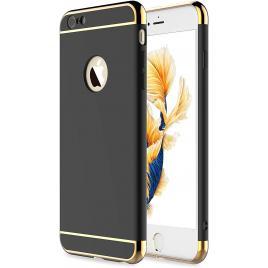 Husa pentru Apple iPhone 6/6S, GloMax 3in1 PerfectFit, Negru
