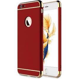 Husa pentru Apple iPhone 6/6S, GloMax 3in1 PerfectFit, Red