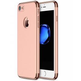Husa pentru Apple iPhone 7, GloMax 3in1 PerfectFit, Rose-Gold